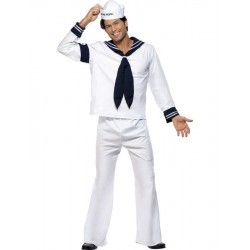 DISFRAZ MARINERO NAVY LOS VILLAGE PEOPLE TALLA L
