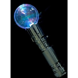 Microfono juguete con bola con luz