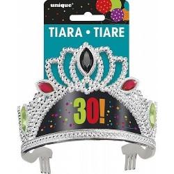 Tiara 30 cumpleaños corona