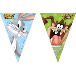 BANDERIN TRIANGULAR LOONEY TUNES 23 MT