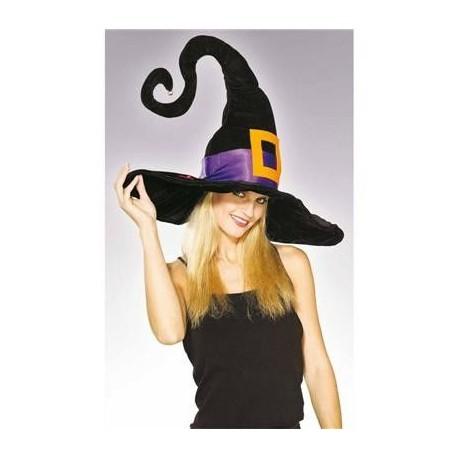 Sombrero bruja negro y lila - Tusdisfracesbaratos.com d7d07ae7fe0