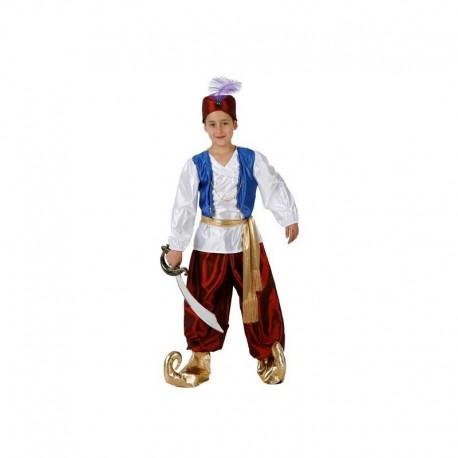 b1d83b38d Disfraz arabe aladino para niño talla 3-4 años