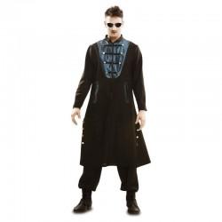 Disfraz gotico para hombre talla ml similar neo matrix