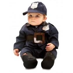 DISFRAZ POLICIA BEBE TALLA 0 A 6 MESES