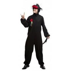 Disfraz toro negro para hombre talla ml