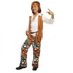 Disfraz hippie para niño talla 3-4 años