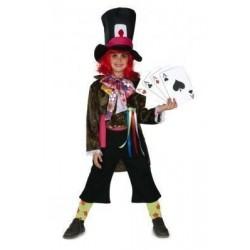 Disfraz sombrerero para niño talla 3 a 5 años