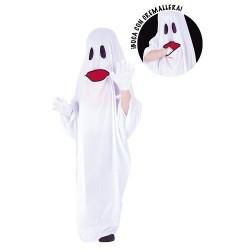 Disfraz fantasma con boca tragon tallas
