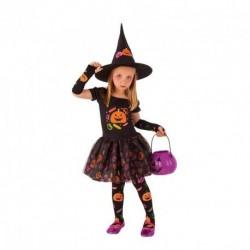 Disfraz bruja candy brujita para niña tallas
