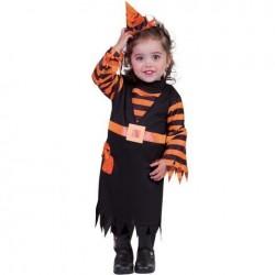 Disfraz bruja candy brujita para niña talla 8 a 10 años
