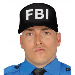 GORRA FBI NEGRA BARATA PARA ADULTO