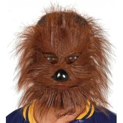 Mascara con pelo hombre lobo teenwolf