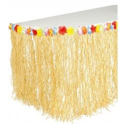Faldon de mesa hawai 275 x 75 cm decoracion