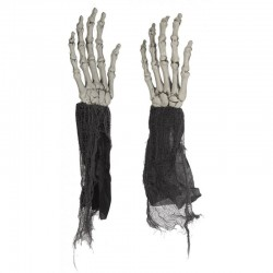 Manos de esqueleto 2 unidades 60 x 19 x 8 cm