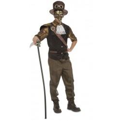 Disfraz steampunk para hombre retro talla ml