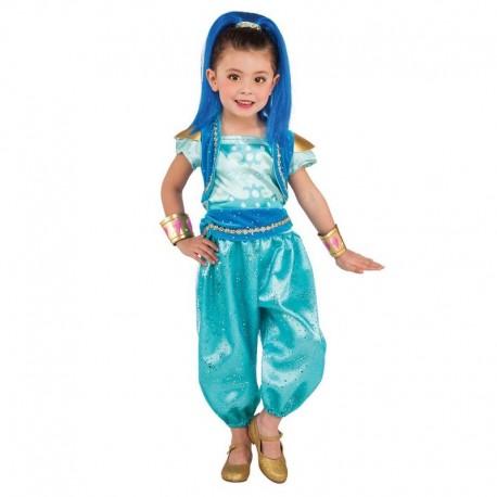 Disfraz shine deluxe para niña talla 3-4 años 8dcebf287df5