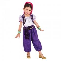 Disfraz shimmer deluxe para niña talla 3-4 años