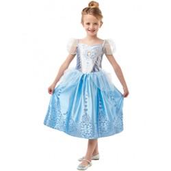Disfraz cenicienta classic deluxe para niña talla 7-8 años
