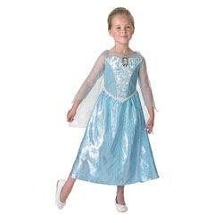 Disfraz elsa de frozen para niña con luz y musica tallas