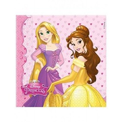 Servilletas princesas draming 20 uds para cumpleaños de niña