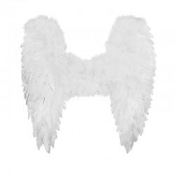 ALAS DE ANGEL BLANCAS 50X50 CM