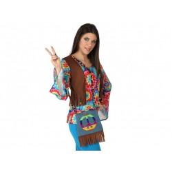 Bolso hippie barato para disfraz. disfraces baratos