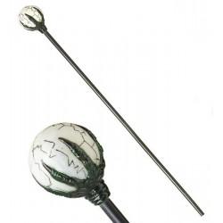 Cetro con bola de mago 122 cm similar malefica. baston magico