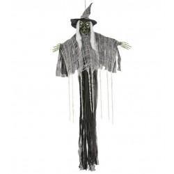Bruja colgante 150 cms halloween