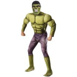Disfraz hulk ragnarok musculos para adulto original y barato