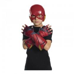 Guantes de flash para niño original liga justicia infantiles