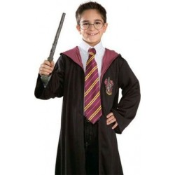 CORBATA HARRY POTTER ORIGINAL MORADA Y AMARILLA