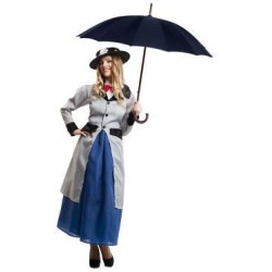 DISFRAZ MARY POPPINS PARA MUJER TALLA ML UNICA