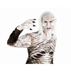 Mascara caminante blanco similar al de juego de tronos