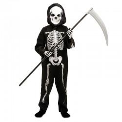 Disfraz esqueleto de 3 a 4 años