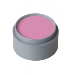 Maquillaje rosa al agua grimas profesional
