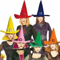 Sombreros de brujas y brujos baratos para halloween ... 0fa19ca8268