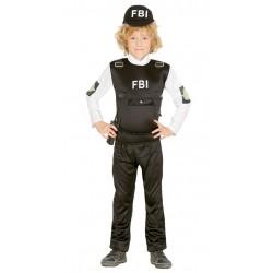 DISFRAZ AGENTE DEL FBI PARA NINO VARIAS TALLAS INFAN