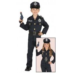DISFRAZ POLICIA NACIONAL PARA NINO TALLA 3 4 ANOS
