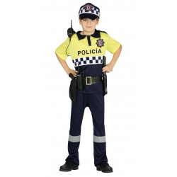 DISFRAZ POLICIA LOCAL PARA NINO VARIAS TALLAS INFANTIL