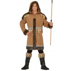 Disfraz esquimal deluxe para hombre talla m 48-50