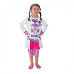 DISFRAZ DOCTORA JUGUETES INFANTIL TALLAS
