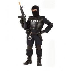 DISFRAZ POLICIA AGENTE SWAT INFANTIL TALLAS