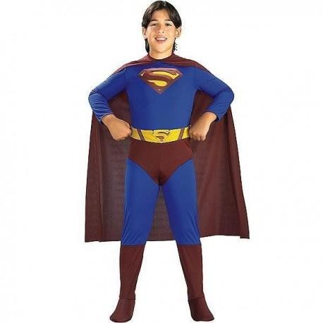 DISFRAZ SUPERMAN RETURNS INFANTIL TALLAS