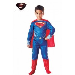 DISFRAZ SUPERMAN MAN OF STEEL NIÑO TALLAS