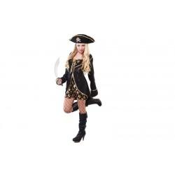 Disfraz pirata noche lujo megrp 706147 chica