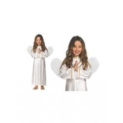 DISFRAZ ANGEL NAVIDAD TALLAS INFANTIL ANGELITO