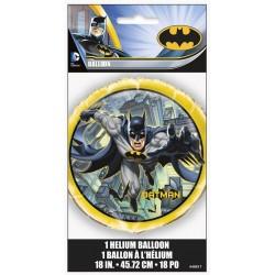 GLOBO BATMAN DE FOIL 45 CM PARA HELIO O AIRE