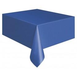 Mantel azul royal liso 137x247 cm