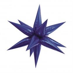 GLOBO ESTRELLA 3D AZUL ROYAL 100 CM