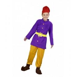 Disfraz enanito talla 7-9 años